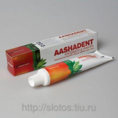 Зубная паста Кардамон-Имбирь Аашадент 100 г