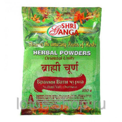 Брахми Вати чурна (Brahmi Vati churnam) 200 г