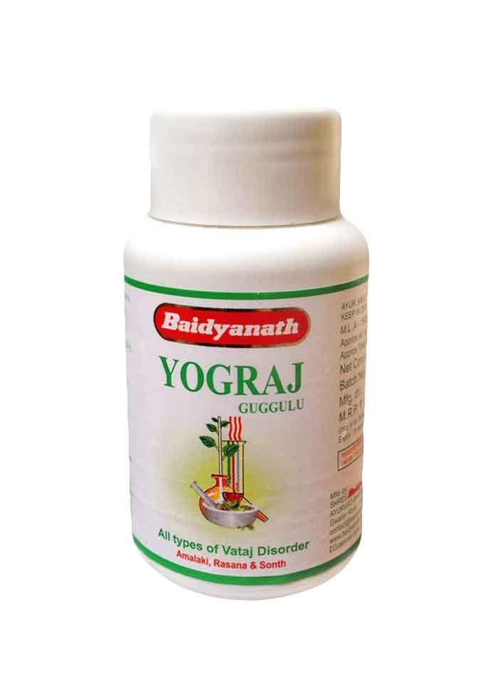 Yogaraj guggulu (Йогарадж Гуггул) Baidyanath (Байдьянатх